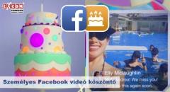 """Megújult a Facebook """"szülinapi köszöntős"""" videója"""