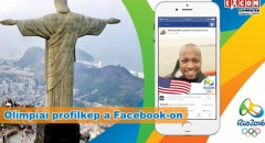 Rio 2016 - Olimpia a Facebook-on is