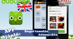 App Ajánló: Tanulj angolul a neten - ingyen
