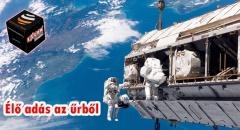 Lélegzetelállító ÉLŐ adás az űrből