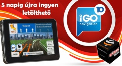 5 napig újra ingyenes az iGO Magyarország térképe