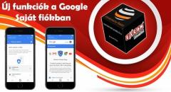 Új funkciók a Google Saját fiókban