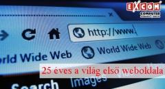 Gondolnád? 25 éves a világ első publikus weboldala