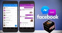 Már az SMS-einkre is ráteszi kezét a Facebook Messenger