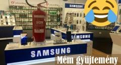 A Samsung új reklám kampány fotói a Note 7-ről