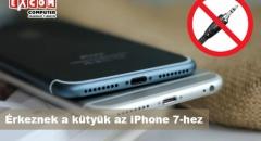 Az első jack dugós adapter iPhone 7-hez