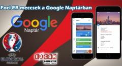 App Ajánló: Google Naptár, hogy ne maradj le a foci-EB meccseiről!