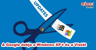 A Google is kikukázza a Windows XP-t