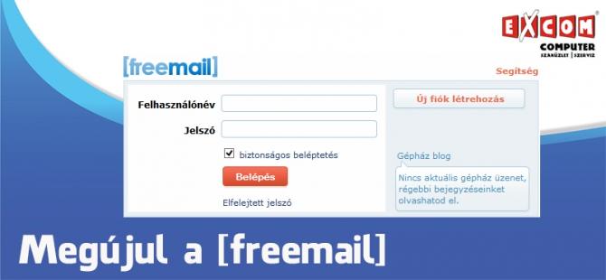 Freemail bejelentkezés