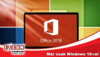 Office 2019: már csak Windows 10-re