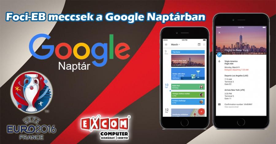 foci eb naptár App Ajánló: Google Naptár, hogy ne maradj le a foci EB meccseiről  foci eb naptár
