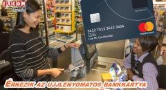 Már az idén érkezhet a MasterCard ujjlenyomatos bankkártyája