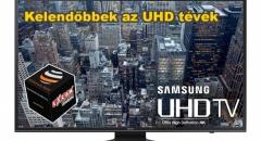 Az UHD felbontású tévék a kelendőbbek