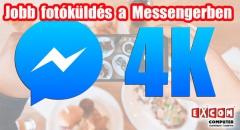 Javít a Facebook a Messenger képküldésének minőségén