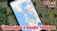 Több hasznos újdonság a Google Térképen