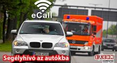 eCall segélyhívó rendszer minden autóba
