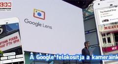 Itt az intelligens kamera a Googletól: Google Lens