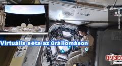 Virtuális séta a Nemzetközi Űrállomáson