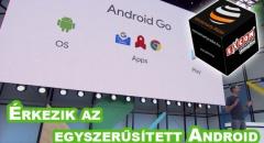 Az Androidból is lesz egyszerűsített, Lite verzió
