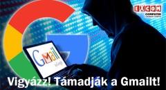 Adathalász levél kering a Gmailben!