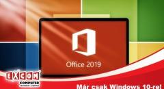Office 2019: már csak Windows 10-re