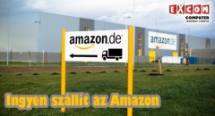 Mostantól hazánkba is ingyen szállít az Amazon