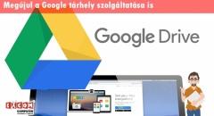 A Gmail után most a Google Drive is megújul