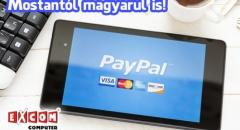 Megtanult magyarul a PayPal