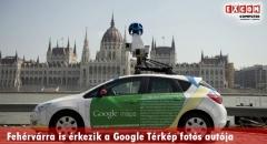 Fehérvárra is érkezik a Google fényképezős autója