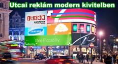 A célzott hirdetéseké a jövő: London Piccadilly