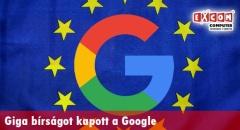 Giga bírságot kapott a Google