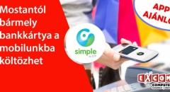 Nagyot újított a Simple: telefonunkba költözhet bármely bankkártya