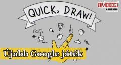 Rajzolós ügyességi játék a Google-től