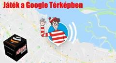 Áprilisi játék a Google Térképben