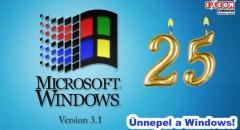 Már 25 éve volt: megjelent a Windows 3.1