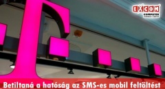 Az NMHH betiltotta az SMS-ben történő egyenlegfeltöltést