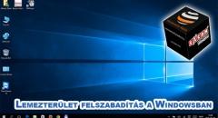 Windows frissítést követően látványosan fogy a lemezterület?