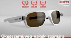 Magyar fejlesztésű okosszemüveg vakok számára