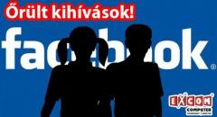 Újabb, őrült Facebook kihívások