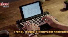 Hagyományos, retró írógép billentyűzet tablethez?