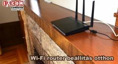 Wi-Fi router beállítási kisokos