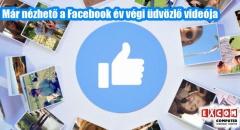 Már nézhetjük a Facebook év végi videóját!